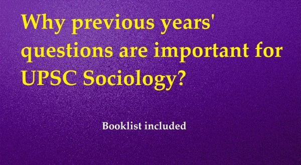 upsc sociology previous year questions