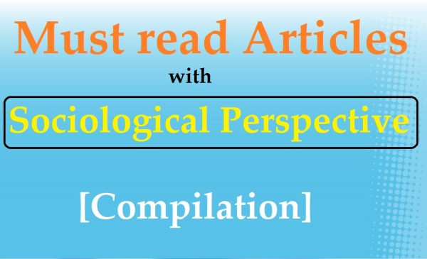 upsc sociology | sociological perspective