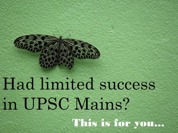 upsc sociology | failure in upsc mains