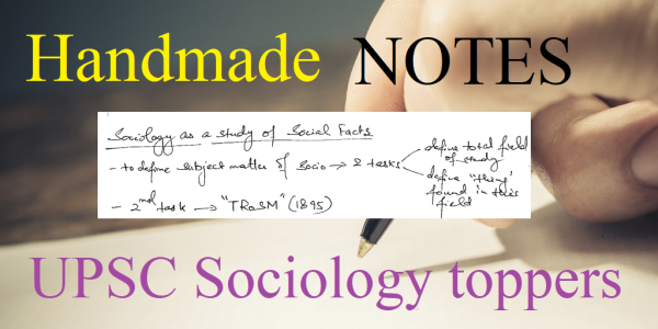 upsc sociology | upsc sociology toppers | ias sociology notes | how to prepare upsc sociology